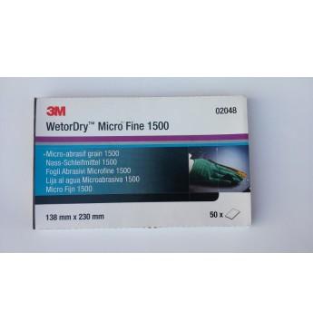 Mikropeen liivapaber P1500 (50 tk.)