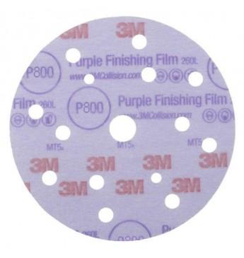 Hookit 260L/15 Purple ketas P800 150mm