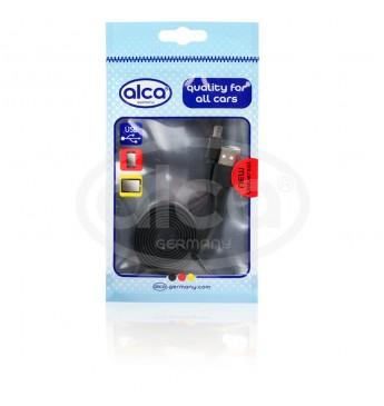 USB-C cable flat black 1m