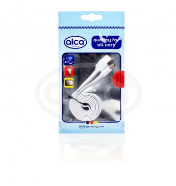 USB-C cable flat white 1m