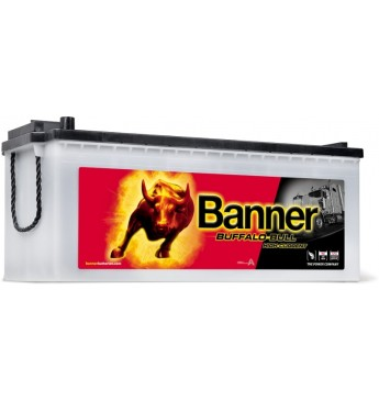 Aku Banner 180Ah 1400A Buffalo Bull HIGH CURRENT 12V 514x223x195/223