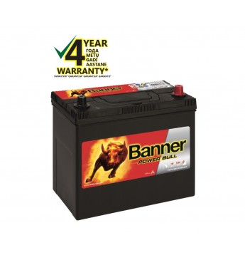 Aku Banner 45Ah 390A -+ 12V Power 238x129x203/225mm
