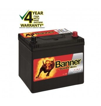 Aku Banner 60Ah 510A -+ 12V Power 233x173x203x225mm