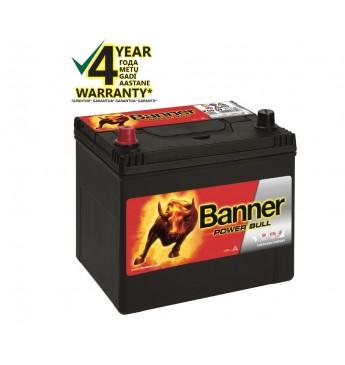 Aku Banner 60Ah 510A +- 12V Power 233x173x203x225mm