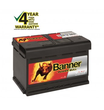 Aku Banner 74Ah 680A 12V Power 278x175x190mm
