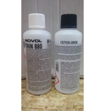 CC 2 tk CETOX 90ml + 3 tk THIN 880 80ml