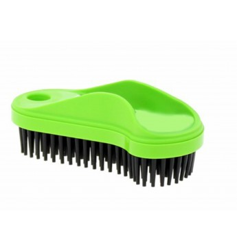 Pet hair brush - label