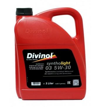 Syntholight DIVINOL 03 5W-30 5 l, ACEA A3/B4/C3 VW 504.00/507.03