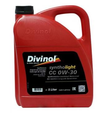 Syntholight CC 0W-30  5L API SL; ACEA A5-10/B5-13