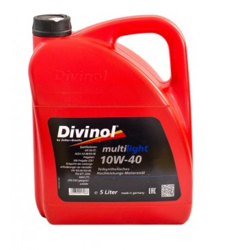 Multilight DIVINOL 10W40 5 l SN/CF, MB229.1, VW 505.00/502.03