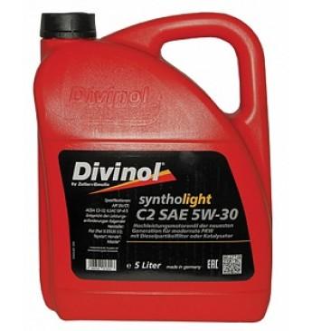 Syntholight DIVINOL C2 5W-30 5 l. SN/CF, ACEA C2-12 (F.T.H.M)