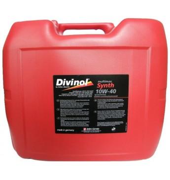 Multimax Synth DIVINOL 10W40 20 l E4/E7, MAN3277, MB228.5, VDS3, RLD5