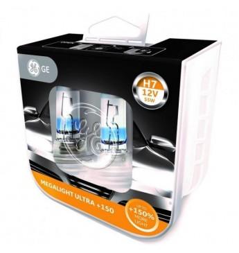 GE lemputės H7 12V 55W MLU+150  (komplektas) 93080358