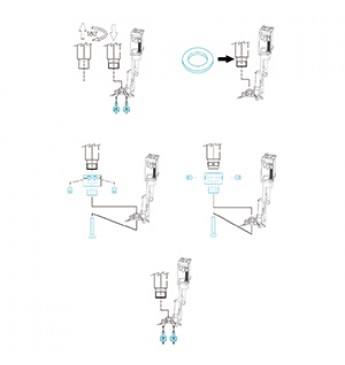 ~488/09 adaptors kit for qx