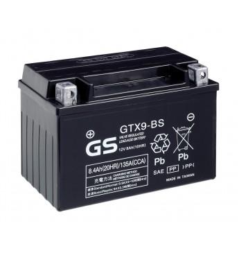 #Aku GS YUASA Moto 8.4Ah GTX9-BS12V 135A 151x88x106mm