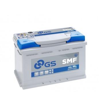 Aku GS YUASA 75Ah SMF096 12V 700A 278x175x190mm
