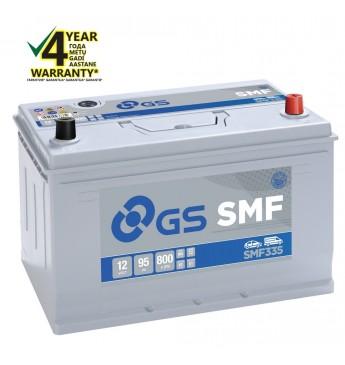 Aku GS YUASA -+ 95Ah SMF335 12V 800A 306x175x222mm