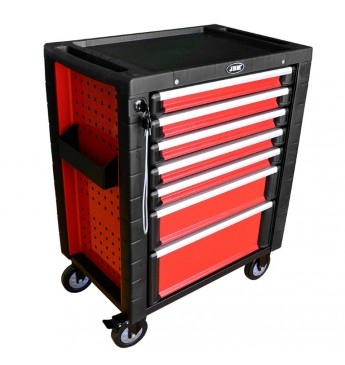 ~Red roller cab-av tool trays