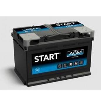 START Battery 70 Ah AGM R+ 12V 760A 278x175x190