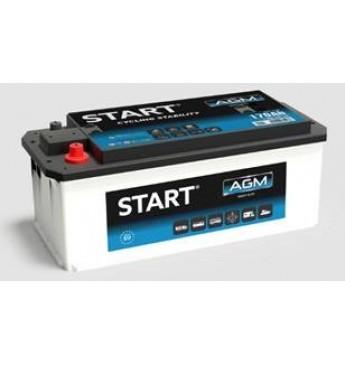 START Battery 140 Ah AGM 12V 1000A 513x189x223