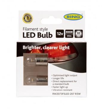 ~FILAMENT 2107 R5W 12V LED