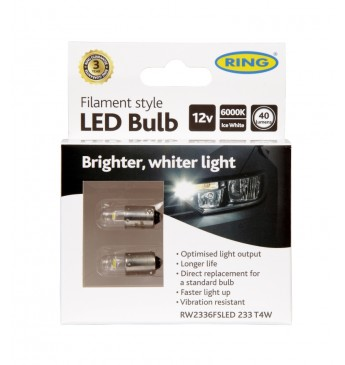 FILAMENT 233 T4W 12V LED