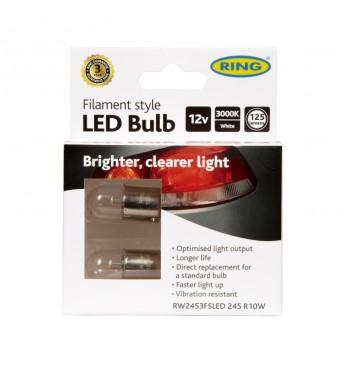 ~FILAMENT 245 R10W 12V LED
