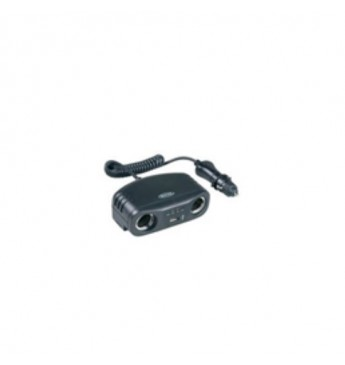Twin 12V multisocket with USB