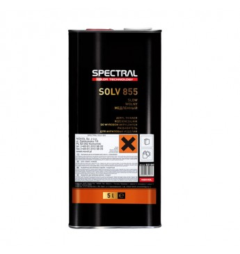 Akrpüültoodete vedeldaja SOLV855 SLOW 5L
