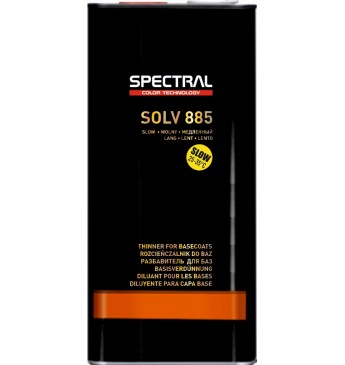 Spectral SOLV885 Baasvärvide lahusti 5L SLOW