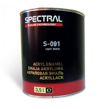 Acrylic enamel S-091 LIGHT WHITE  3.5L