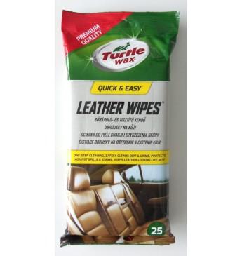 Turtle Wax Leather Wipes Turtle Wax, 25pcs