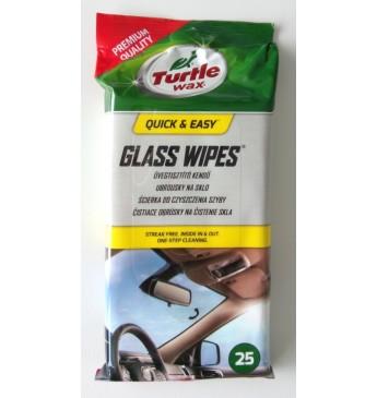Turtle Wax Window Wipes 25pcs